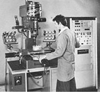 1975 - Presentation of the first FEHLMANN NC machine PICOMAX 50 NC